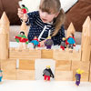 TTS Outdoor Wooden Castle Blocks - Set of 40 - EY05059