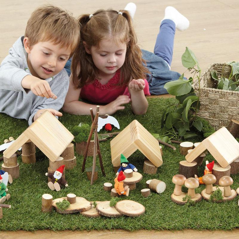 TTS Small World Fairy Village Construction Set - EY04684