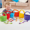 TTS Colour Sorting Shopping Bags and Objects - Set of 30
