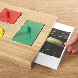 TTS Wooden Peg Puzzle Explorer Board