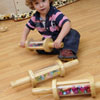 TTS Wooden Treasure Cylinder Rolling Pins - Pack of 3