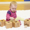TTS Wooden Baby Posting Pots - Pack of 4