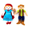 TTS Fairytale Characters in a Soft Basket - EY04736