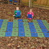 TTS Giant Outdoor Number Mats 1-50 - Set of 50 - EY06691