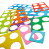 TTS Giant Silicone Number Frames - Set of 50 - MA03218