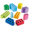 TTS Coloured Magnetic Number Frames - Set of 80 - MA02690