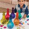 TTS Coloured Plastic Potion Bottles - Set of 6 - EY06701