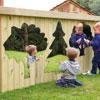 TTS Mark Making Mirror Trees Assorted - Set of 3 Mirrors - AR02101