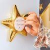 TTS Recordable Talking Metallic Gold Stars - Pack of 6 - EY07353