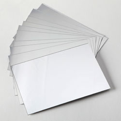 A6 Plastic Mirrors - Pack of 100