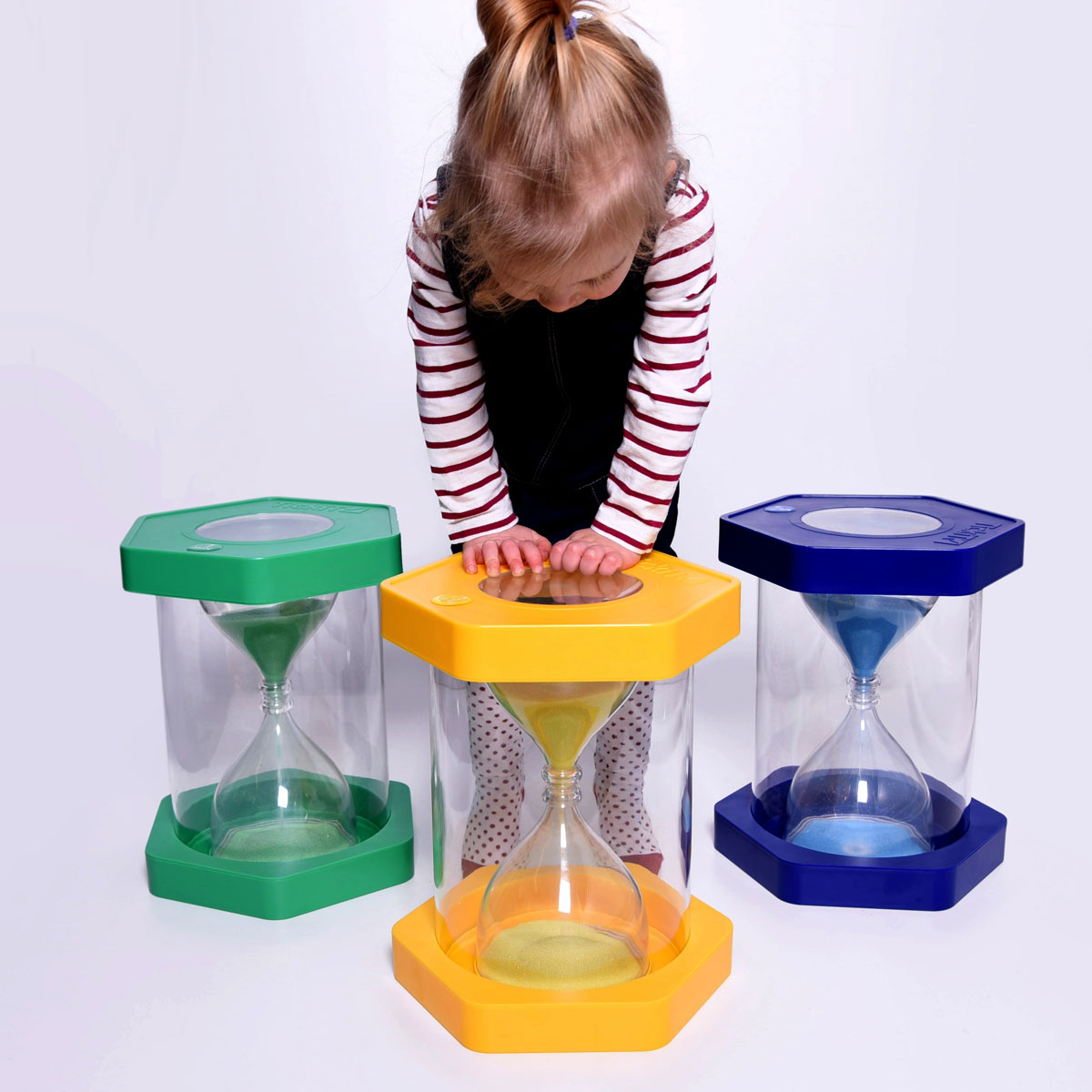 buy giant sit-on clearview sand timer