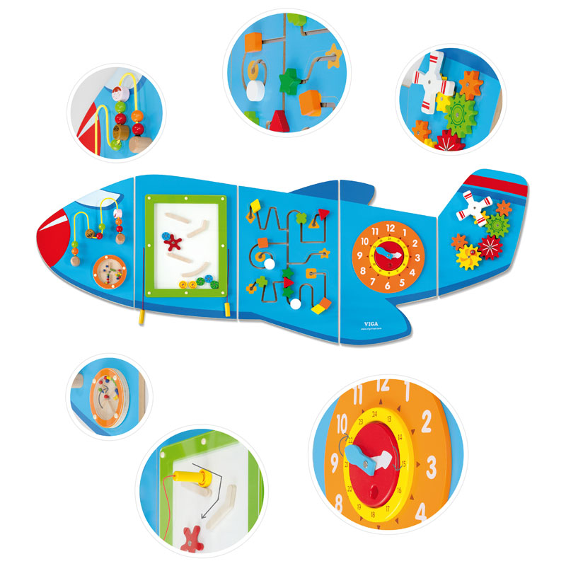 Aeroplane Activity Wall Panels - CD76083