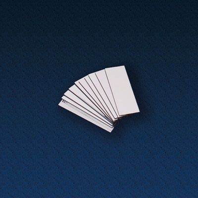 Double Sided Plastic Mirrors 75 x 25mm - Pack of 10 - CD48314