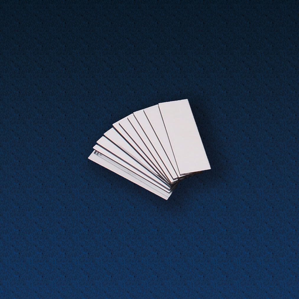 Buy Double Sided Plastic Mirrors 75 X 25mm Pack Of 10