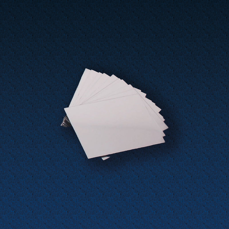 Double Sided Plastic Mirrors 90 x 65mm - Pack of 10 - CD48318