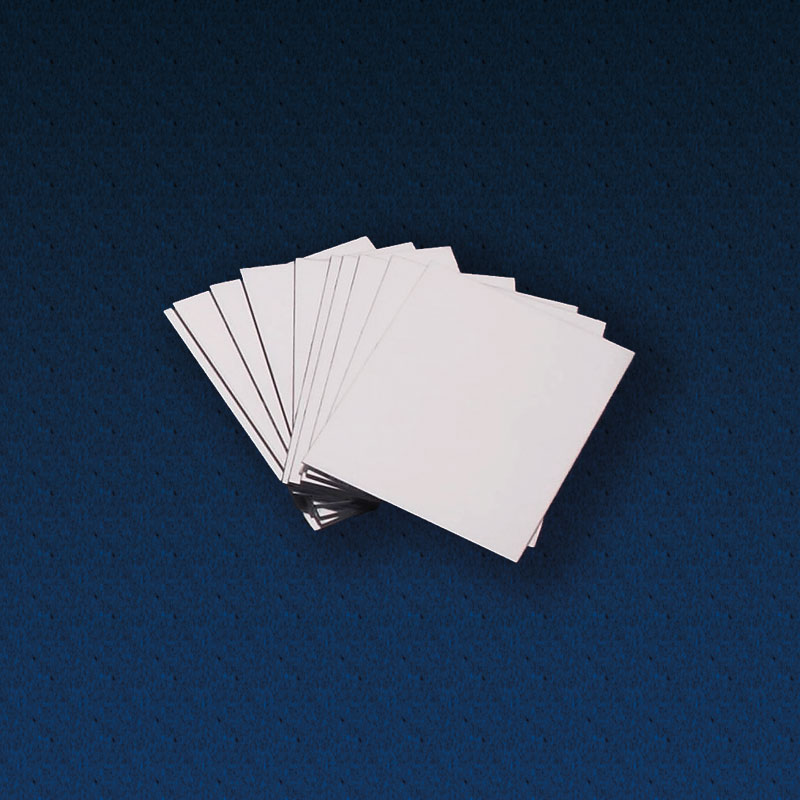 Double Sided Plastic Mirrors 100 x 75mm - Pack of 10 - CD48320