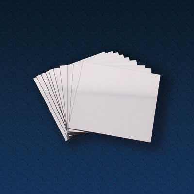 Double Sided Plastic Mirrors 100 x 100mm - Pack of 10 - CD48322