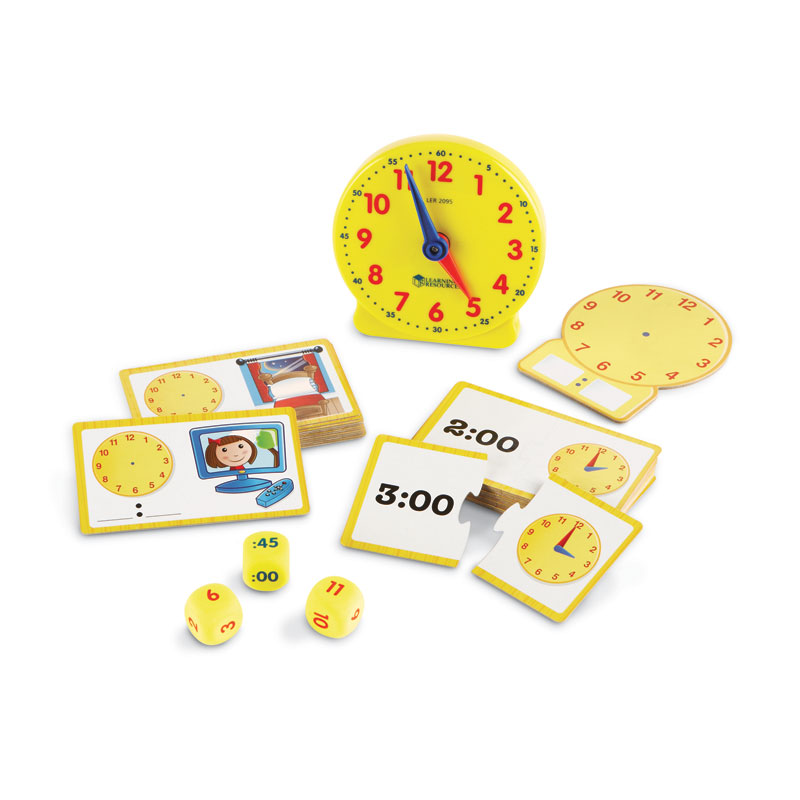 Time Activity Set - by Learning Resources - LER3220