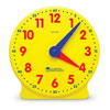 Big Time 12-Hour Geared Student Clock - by Learning Resources - LER2095