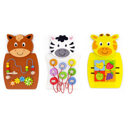 Activity Wall Panel Set - Set of 3