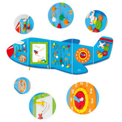 Activity Wall Panel - Aeroplane [CD76083]