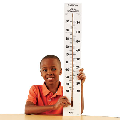 Giant Classroom Thermometer - Pack of 2 (by Learning Resources) - LER0399-2