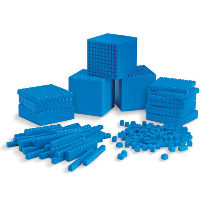 Interlocking Plastic Base 10 Class Set (823 Pieces) - by Learning Resources - LER6358