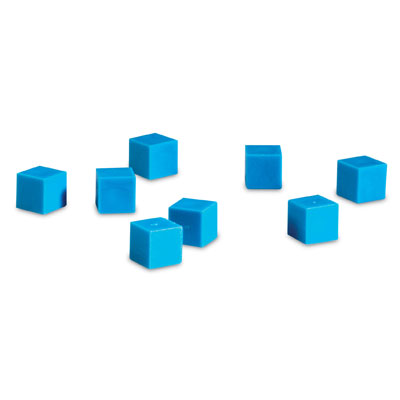 Grooved Base 10 Plastic Units - Set of 100 - by Learning Resources - LER0924