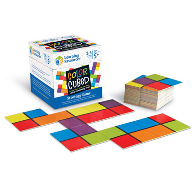 Colour Cubed Strategy Game - by Learning Resources - LER9283