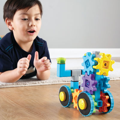 Gears! Gears! Gears! RoverGears - 43 pieces - by Learning Resources - LER9232