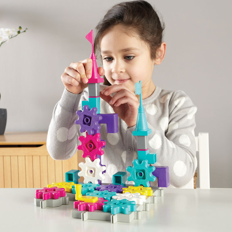 Gears! Gears! Gears! CastleGears - 38 pieces - by Learning Resources - LER9233