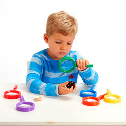 Rainbow Magnifiers - Set of 6