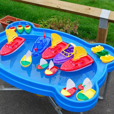 Play Boat Set - Set of 20 - CD74008