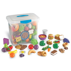 New Sprouts Classroom Play Food Set - by Learning Resources