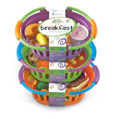 New Sprouts Breakfast, Lunch & Dinner Baskets - by Learning Resources - LER9733