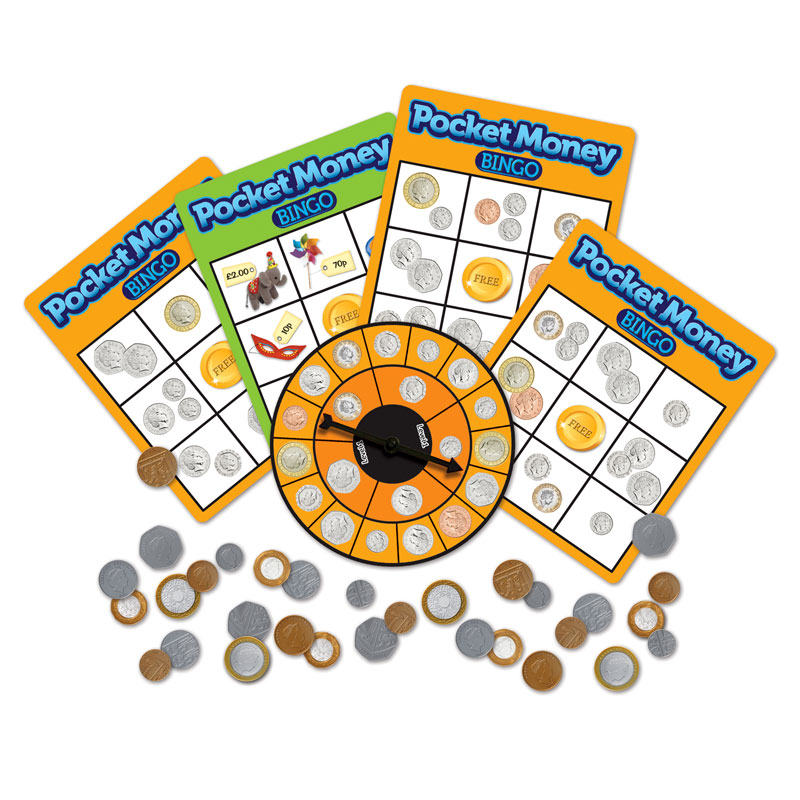 Pocket Money Bingo Game - LSP9516-UK