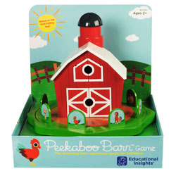 Peekaboo Barn Game - by Educational Insights