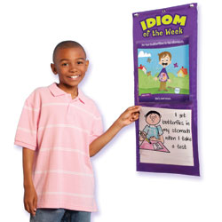 Idiom of the Week Pocket Chart - by Educational Insights