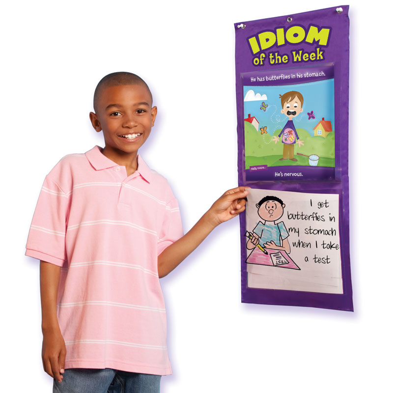 Idiom of the Week Pocket Chart - by Educational Insights - EI-1753
