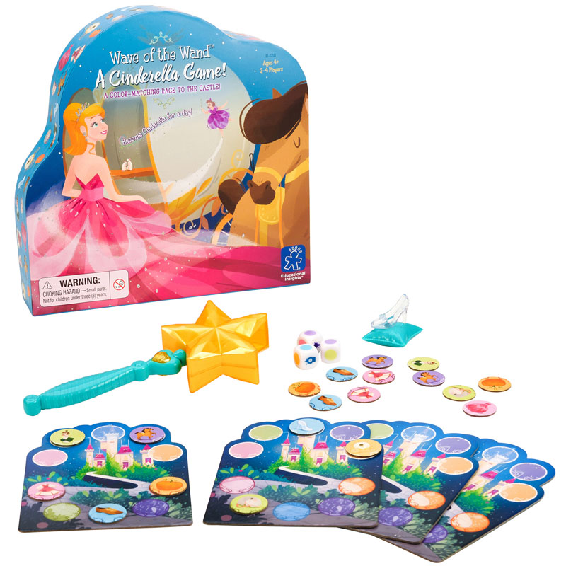 Wave of the Wand A Cinderella Game - by Educational Insights - EI-1758
