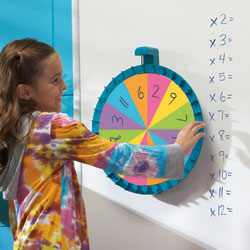 Jumbo Magnetic Spin Wheel - by Educational Insights