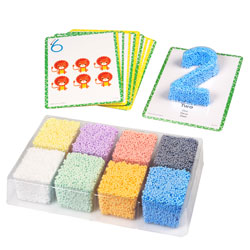 Playfoam Shape & Learn Numbers Set - by Educational Insights