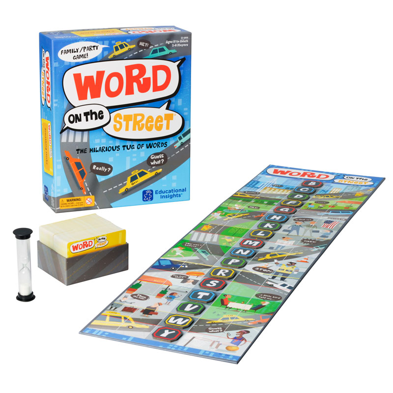 Word on the Street - by Educational Insights - EI-2830