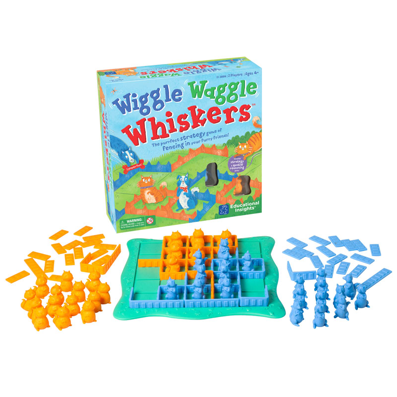Wiggle Waggle Whiskers - by Educational Insights - EI-2886