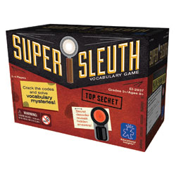 Super Sleuth Vocabulary Game - by Educational Insights