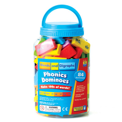 Phonics & Word Building: Blends & Digraphs - by Educational Insights - EI-2942