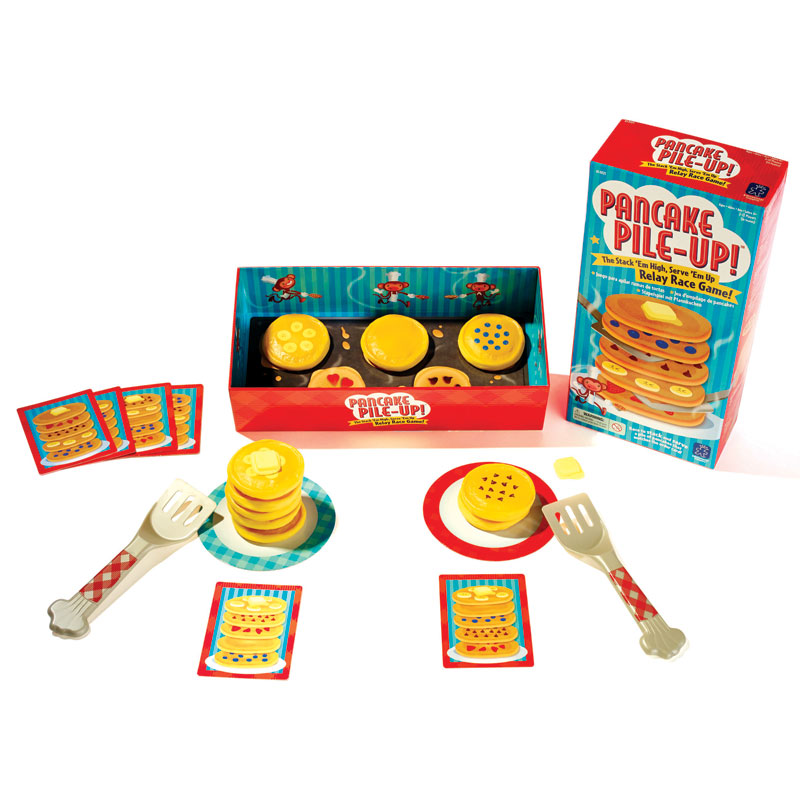 Pancake Pile-Up! Matching Relay Race Game - by Educational Insights - EI-3025