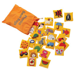 Phonics Bean Bags - by Educational Insights