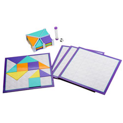 Shapes Up Tangram Game - by Educational Insights