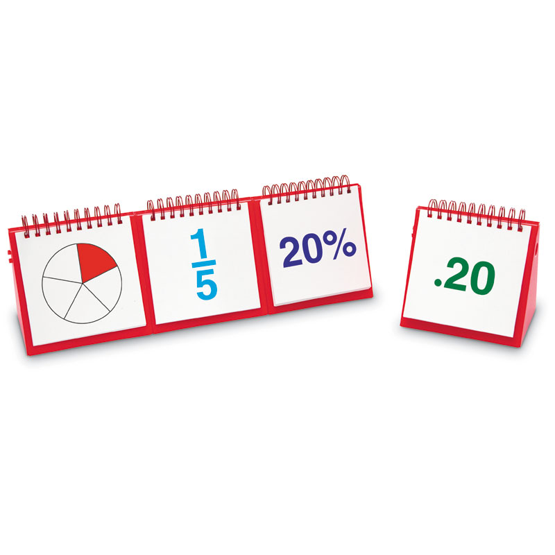 Fractions Modular Flip Charts - by Educational Insights - EI-3243